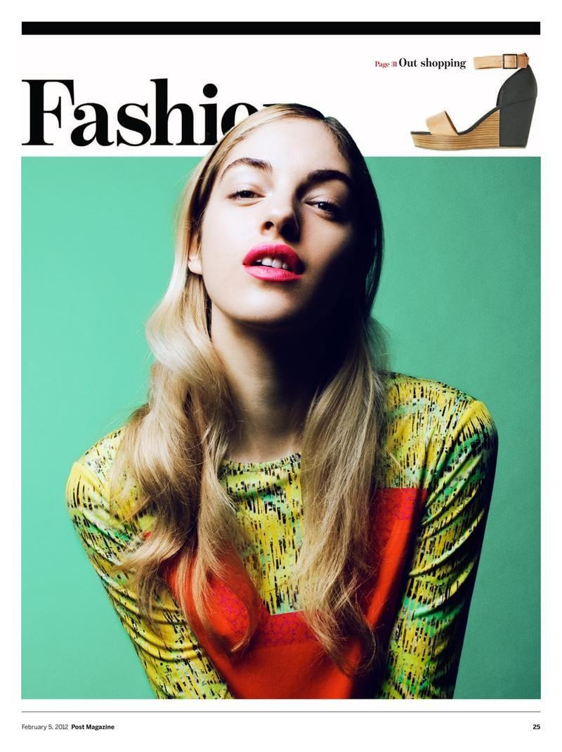 Naomi Preizler para Fashion