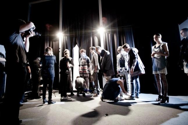 Backstage Proyecto Cuadrilla Invierno 2012. Foto: Felix Busso