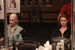 BAF Week / Backstage Dia #2 - Makeup & Hair