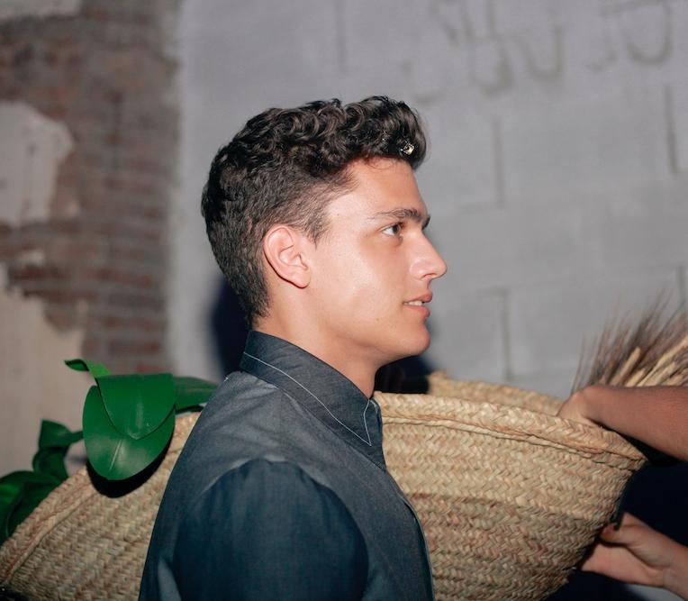 Backstage Daniel Rosa SS18 / PH: Meritxell Soler